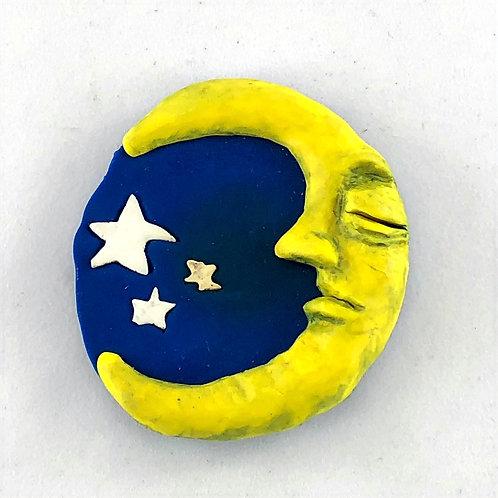 Vintage KAYotic Man on the Moon Magnets