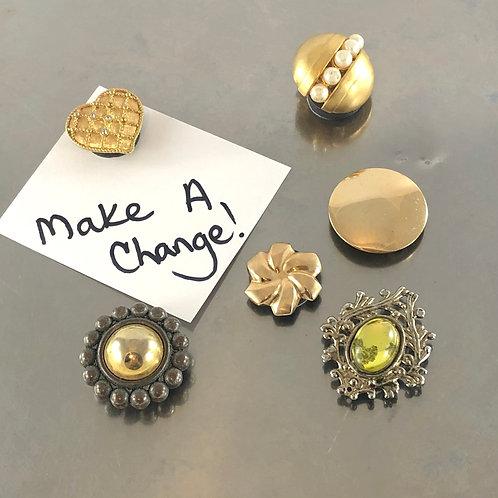 Make A Change - Reefer Magnets