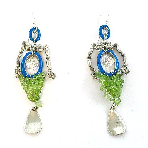 Yin/Yang - Mermaid Earrings