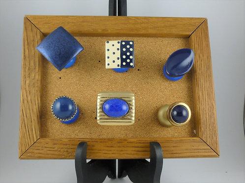 Navy Blues - Posh Pins