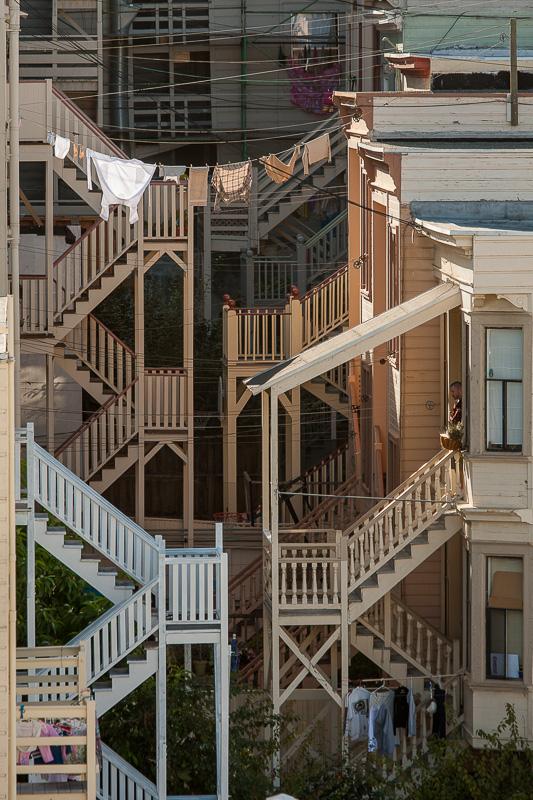 back stairways