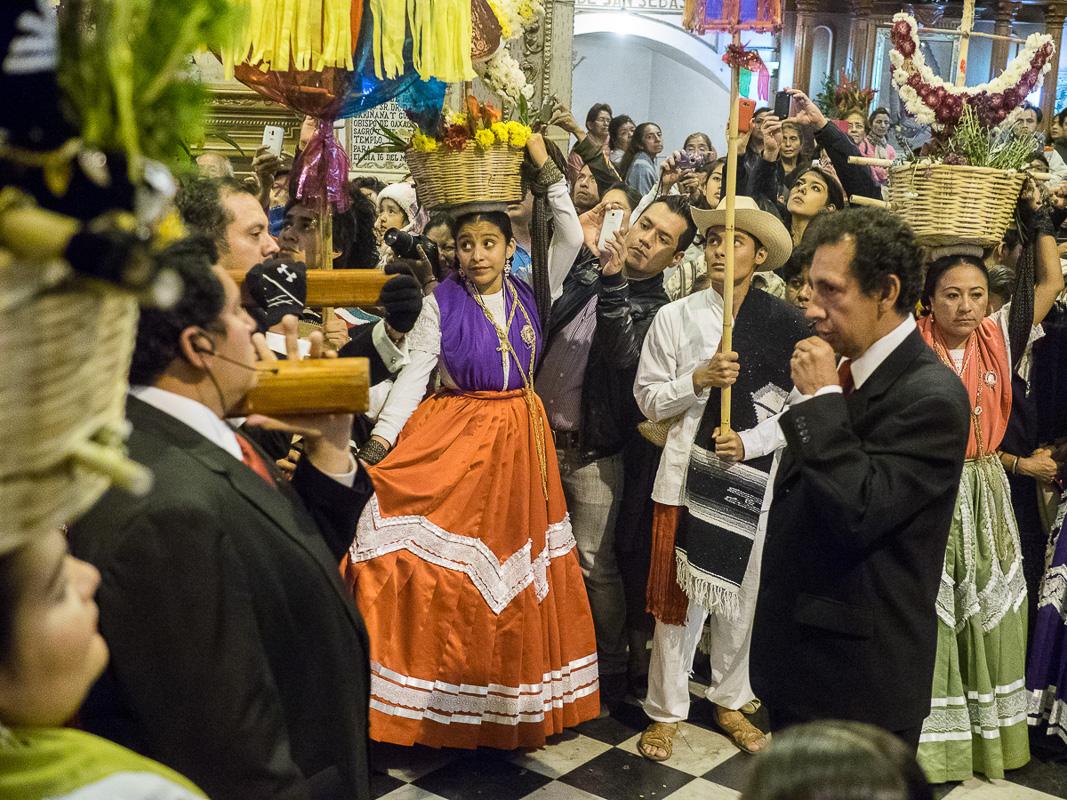 feast of the patron saint of Oaxaca
