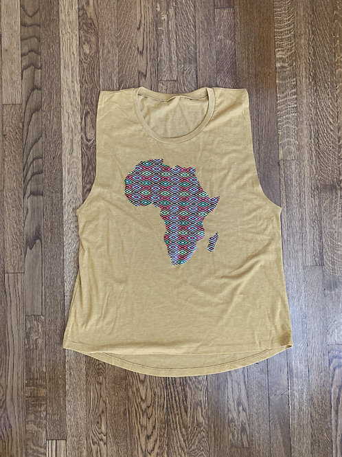 Women's Large Africa Tank Top