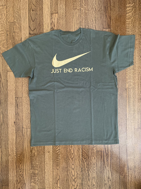 Extra Large Just End Racism T-Shirt