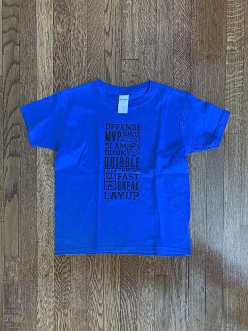 Kid's Basketball T-Shirt