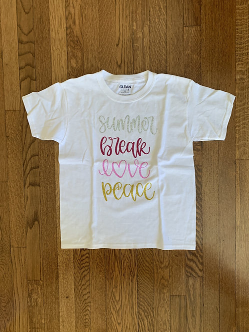 Kid's Summer Break T-Shirt