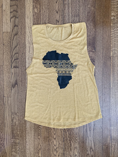 Women's Medium Africa Tank Top