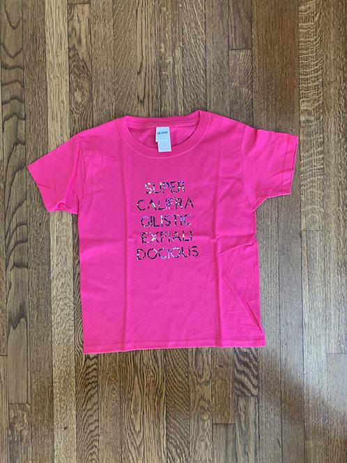 Kid's Supercalifragilistic T-Shirt