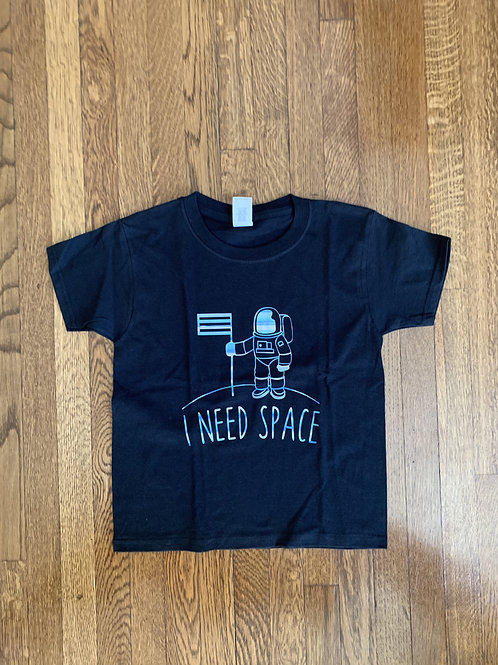 Kid's I Need Space T-Shirt