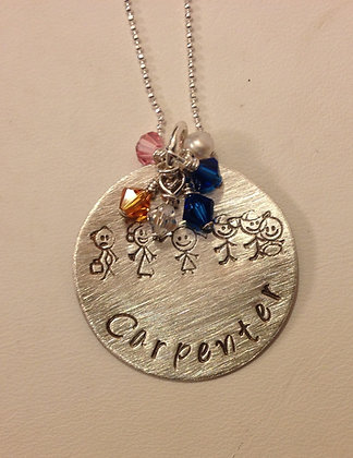 The Little Family Necklace