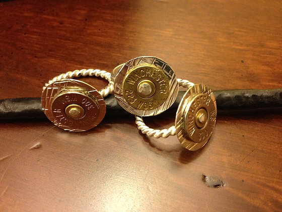 Annie Oakley Bullet Ring