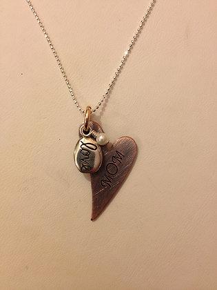 Custom Love Heart Necklace