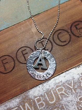 Single Monogram Necklace