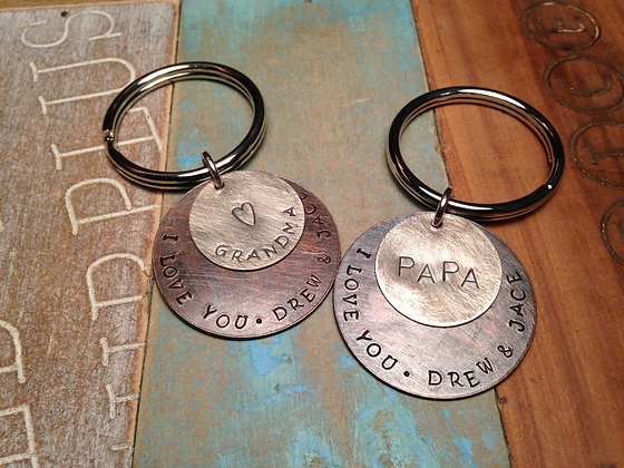 Keychains for Grandparents