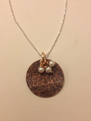 The Newbold Family Necklace