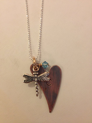 The Dragonfly Necklace