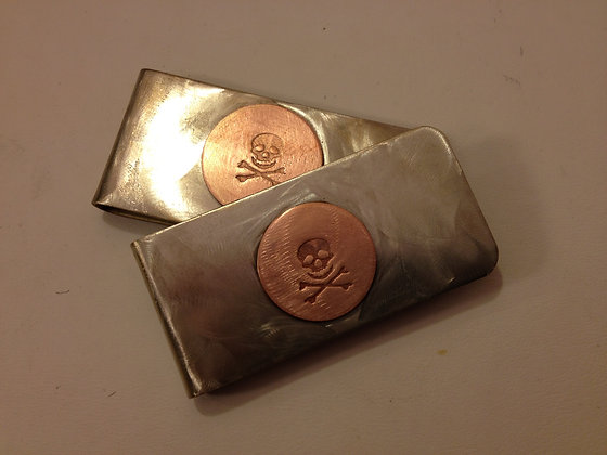 Pirate Money Clip