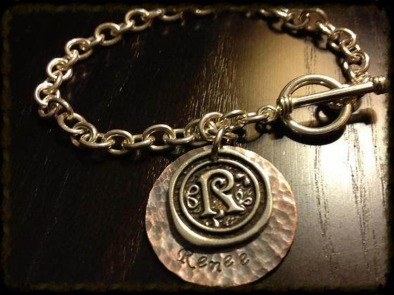 The Renee Initial Bracelet