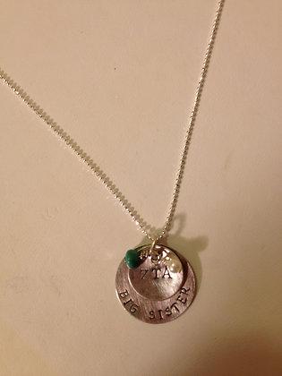 Sorority Greek Necklace