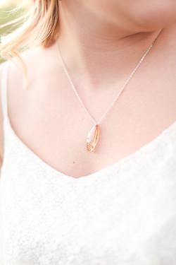 17 year cicada necklace