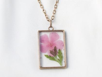 August Birth Flower Necklace