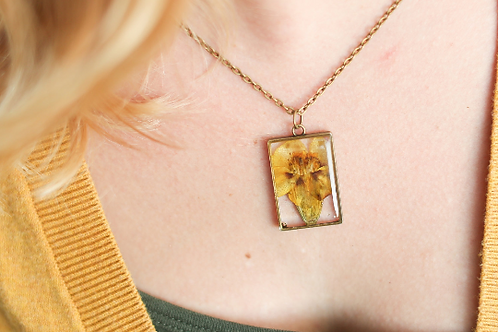 October Birth Flower Necklace