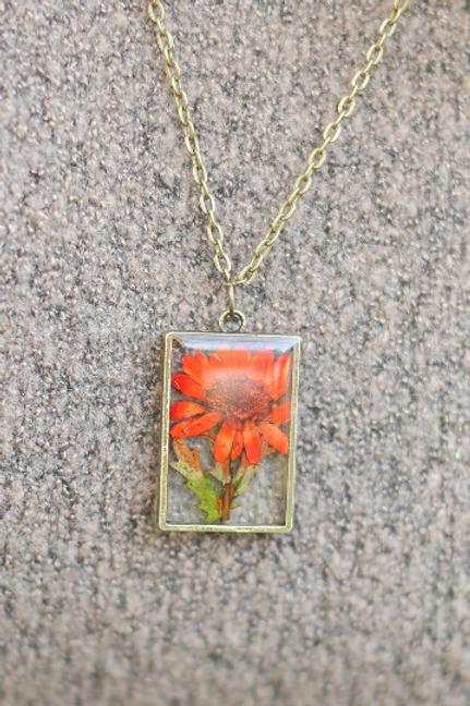 November Birth Flower Necklace