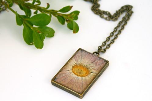 September Birth Flower Necklace