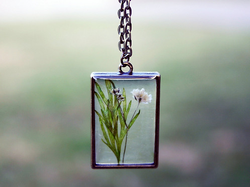 May Birth Flower Necklace