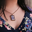 Thumbnail: February Birth Necklace