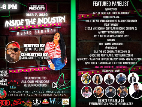 Pittsburgh,PA INSIDE THE INDUSTRY MUSIC SEMINAR