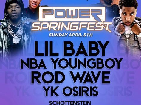 Power 107.5/106.3 Spring Powerfest