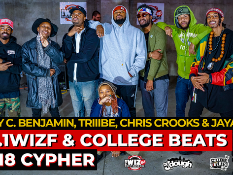 101.1 WIZF x College Beats Presents: The #WizFreestyleFriday Cypher with DJ J.Dough Ep.17