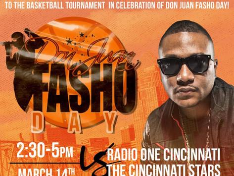 DON JUAN FASHO FA SHO DAY CELEBRITY BASKETBALL GAME