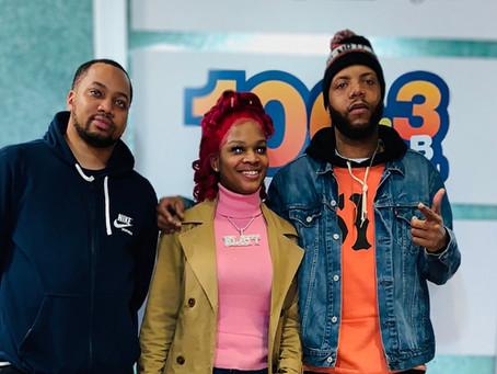 101.1 The Wiz Presents: Freestyle Friday with DJ J.Dough Feat. @SkylarBlatt__ Ep.30