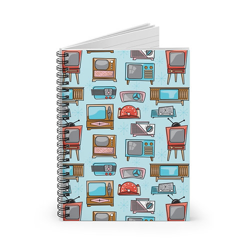 Radio and TV Spiral Notebook - Ruled Line