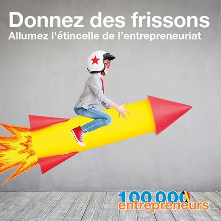 100 000 entrepreneurs Belgique dons