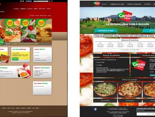 Un nouveau site pour Carolo Pizza !