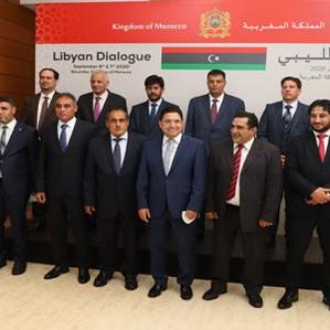 الحوار الليبي .. الوفدان الليبيان يثمنان سعي المغرب وحرصه الصادق على إيجاد حل للأزمة الليبية