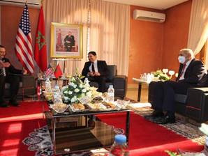 وفد أمريكي رفيع المستوى يزور مقر القنصلية الأمريكية العامة المرتقبة بالداخلة