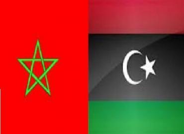 Morrocan flag Libyan flag.jpg