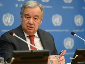الأمين العام للامم المتحدة: عام 2021 يحمل معه بواعث الأمل والتعافي من جائحة كورونا