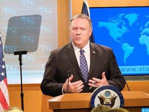 واشنطن تعلن بدء عملية فتح قنصلية للولايات المتحدة الأمريكية بالداخلة