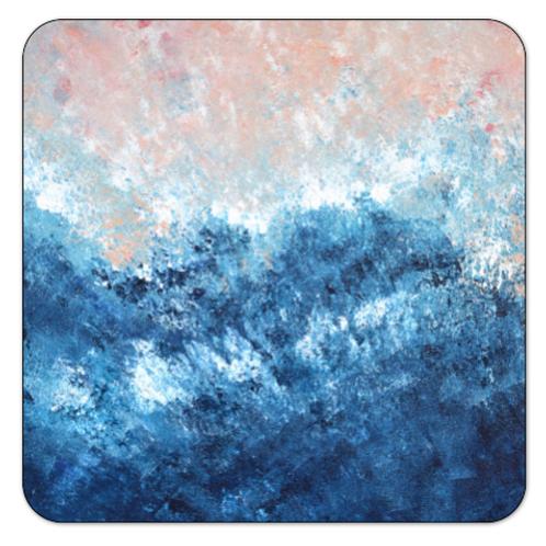 Square coaster Pastel series