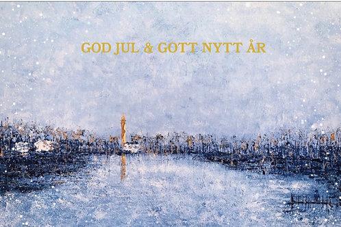 "Christmas card ""Djurgårdsbrunnsviken"""