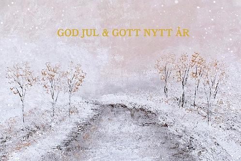 """Christmas card """"Djurgårdsbrunnskanalen"""""""