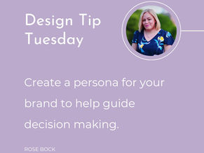 Design Tip Tuesday