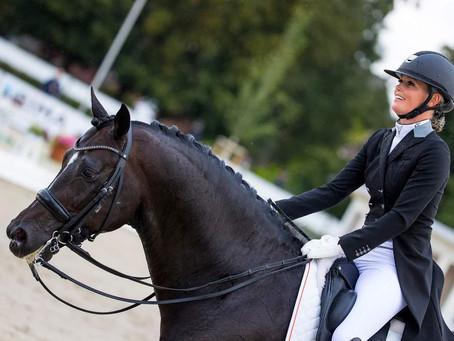Renate van Vliet succesvol op WK jonge paarden