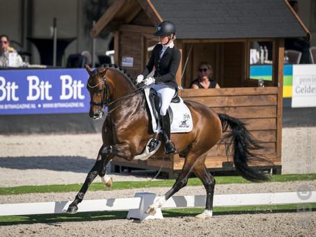 Renate van Uytert - van Vliet Nederlands kampioen in de klasse ZZ-zwaar met In Style!