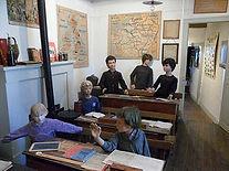 Classe d'école reconstituée - Musée La Maison d'Autrefois à Chasseneuil du Poitou Poitiers Futuoscope